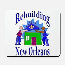 Rebuilding New orleans Together Mousepad