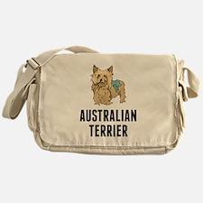 Australian Terrier Messenger Bag
