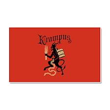 Krampus Car Magnet 20 x 12