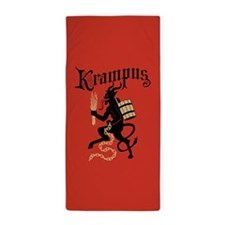 Krampus Beach Towel