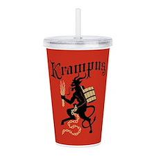 Krampus Acrylic Double-wall Tumbler