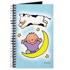 Cow Jumping Over The Moon Journal
