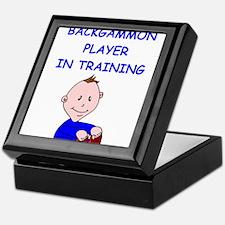 Funny Backgammon Keepsake Box