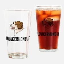 Kooikerhondje Drinking Glass