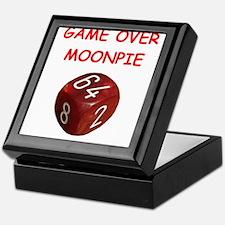 Unique Backgammon Keepsake Box