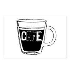 Cafe 1 Postcards (Package of 8)