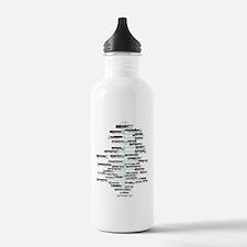 ADK High Peaks Holiday Water Bottle