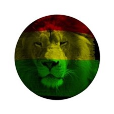 "raggae lion 3.5"" Button"
