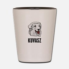Kuvasz Shot Glass