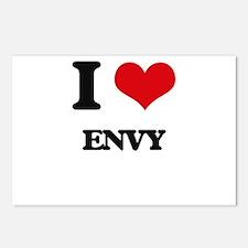 I love Envy Postcards (Package of 8)