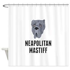 Neapolitan Mastiff Shower Curtain