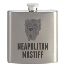 Neapolitan Mastiff Flask