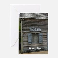 Oldest Wood School Greeting Cards