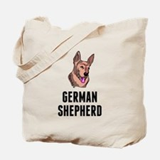German Shepherd Tote Bag