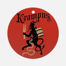 Krampus Ornament (Round)