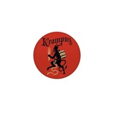 Krampus Mini Button