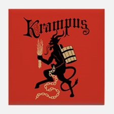 Krampus Tile Coaster