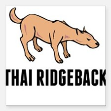 "Thai Ridgeback Square Car Magnet 3"" x 3"""