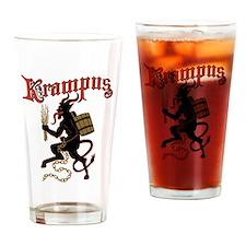 Krampus Drinking Glass