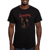 Krampus Fitted T-shirts (Dark)