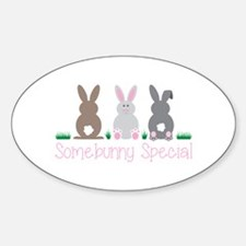 Somebunny Special Decal