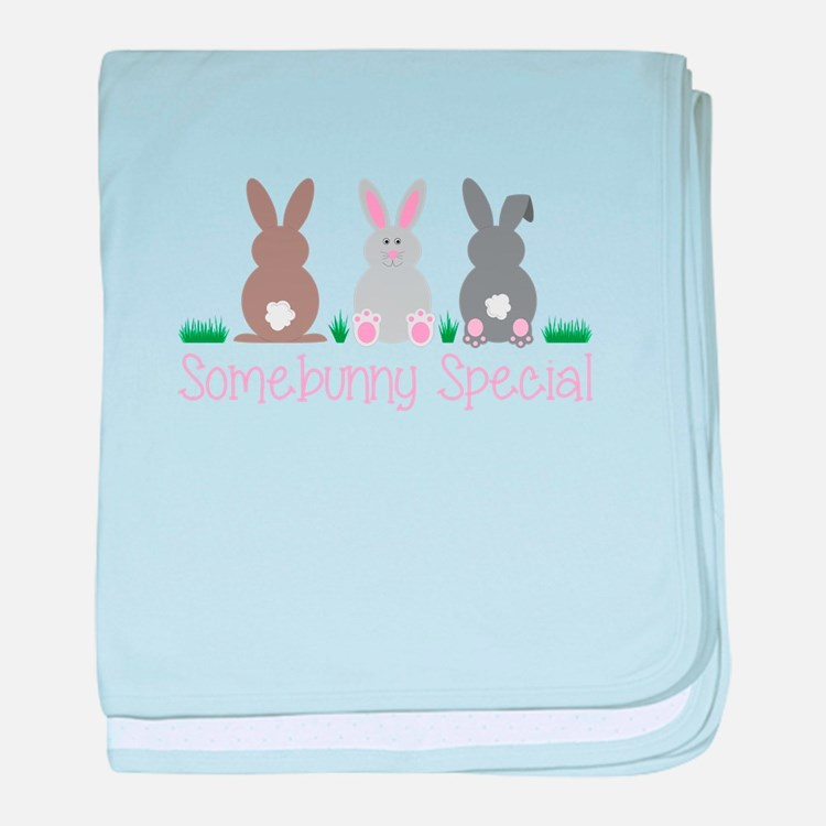 Somebunny Special baby blanket