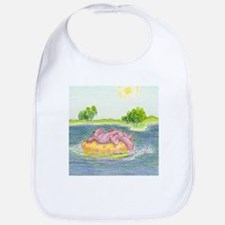 Summertime, and the Livin' is Easy Bib