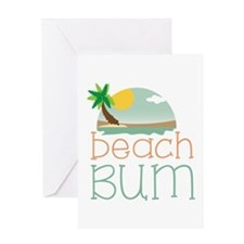 Beach Bum Greeting Cards