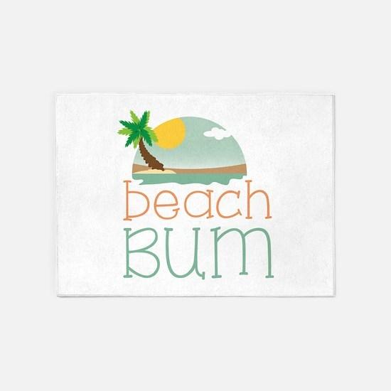 Beach Bum 5'x7'Area Rug