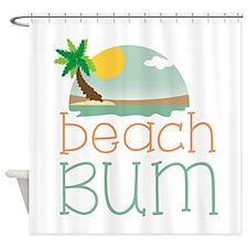 Beach Bum Shower Curtain