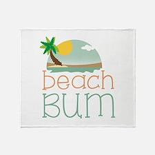 Beach Bum Throw Blanket