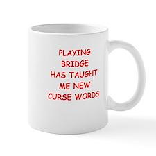 i love bridge Mugs
