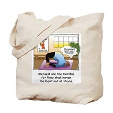 Blessed are the Flexible Canvas Grocery/Tote Bag