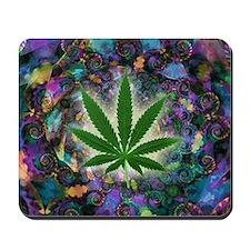 Marijuana Psychedelic Mousepad