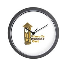 Grandfather_Clock_Time_Is_Running_Out Wall Clock
