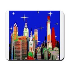 Philadelphia Starry Night Mousepad