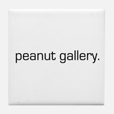Peanut Gallery Tile Coaster
