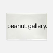 Peanut Gallery Rectangle Magnet