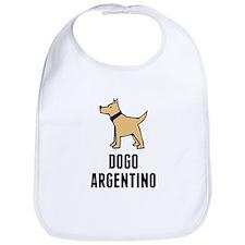 Dogo Argentino Bib