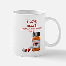 i love bocce Mugs