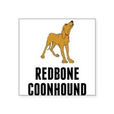 Redbone Coonhound Sticker