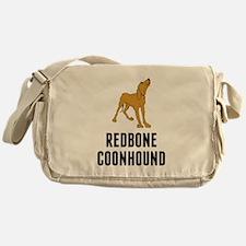 Redbone Coonhound Messenger Bag