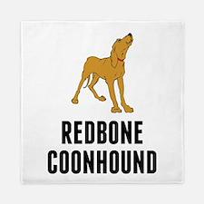 Redbone Coonhound Queen Duvet
