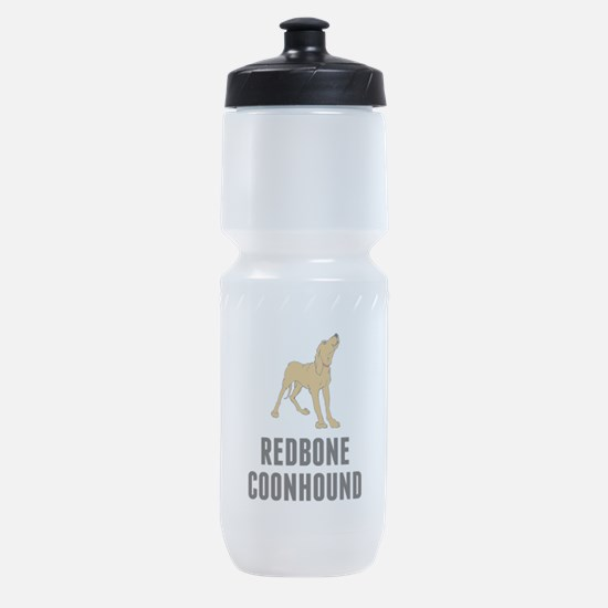 Redbone Coonhound Sports Bottle