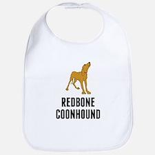 Redbone Coonhound Bib