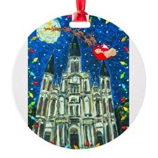 New Orleans Cheristmas Ornament