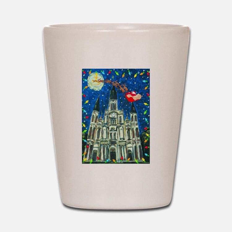 New Orleans Cheristmas Shot Glass