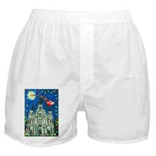 New Orleans Cheristmas Boxer Shorts