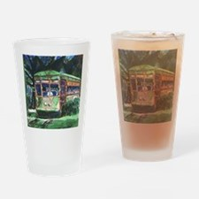 New Orleans Streetcar Drinking Glass