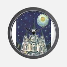 New Orleans Church Wall Clock